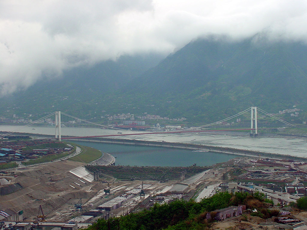 yangtze and yellow river in the three gorges dam project Yangtze river is a world famous beautiful river with splendid and wonderful natural scenery to appreciate, interesting historical stories to hear, amazing culture to learn, and so forth, such as the well-known three gorges, dam project, fengdu ghost city.